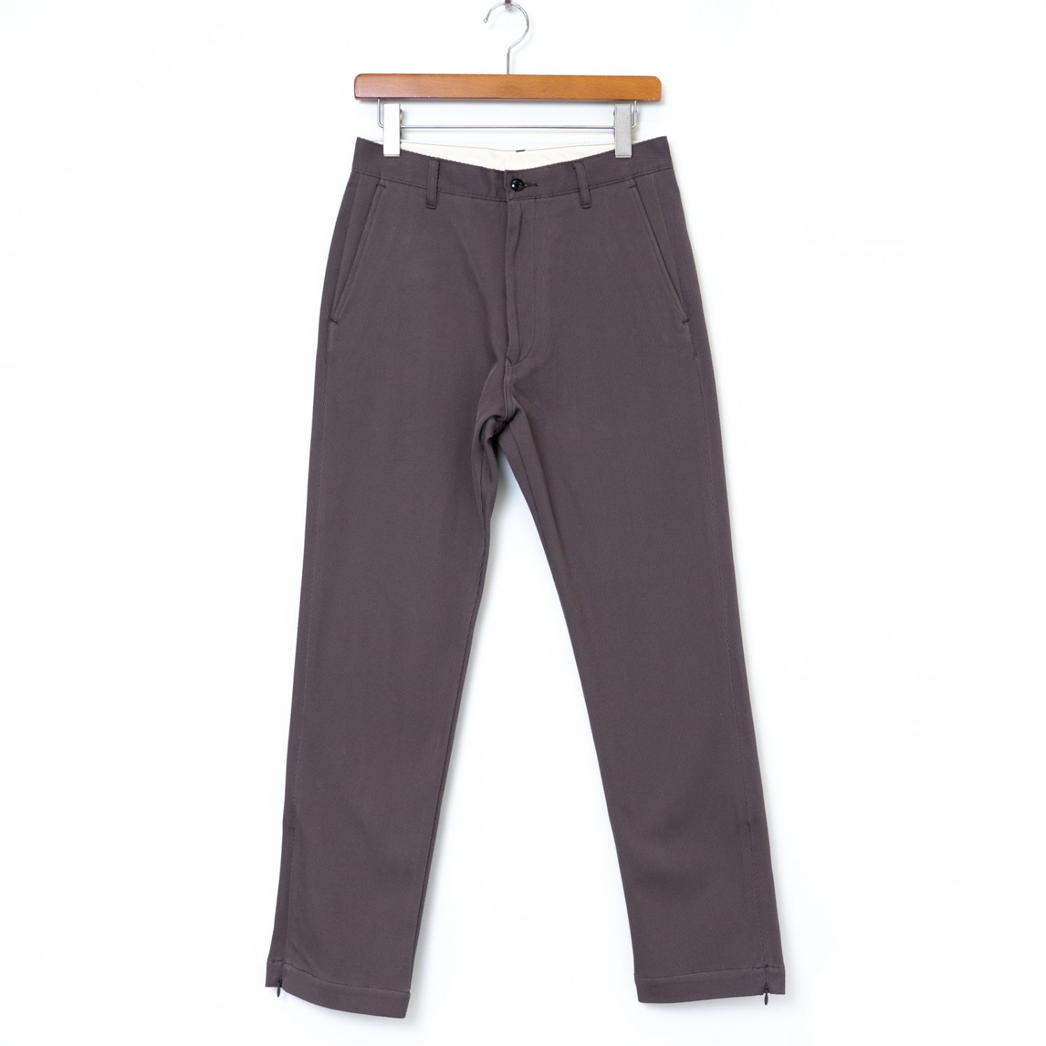 Graphpaper * Hard Twill Slim Tapered Pants * Gray