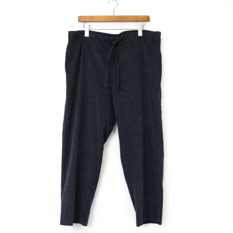 ts(s) * Fine Wale Heather Cotton Corduroy Cloth Drawstring Pants * Charcoal