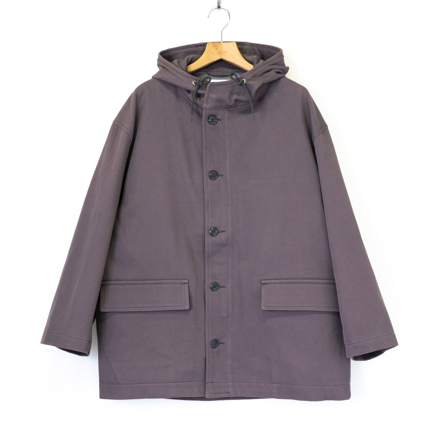 Graphpaper * Hard Twill Hooded Blouson * Gray