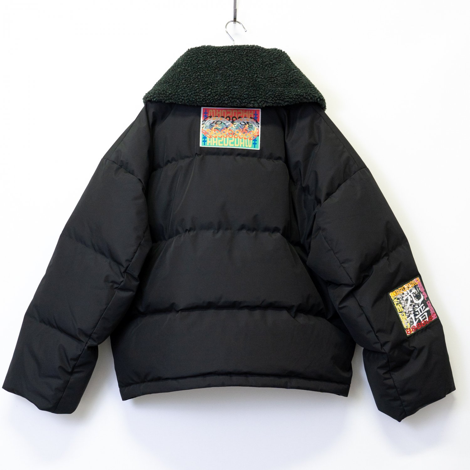 A.A.Spectrum * Big Collar Down Jacket * Black
