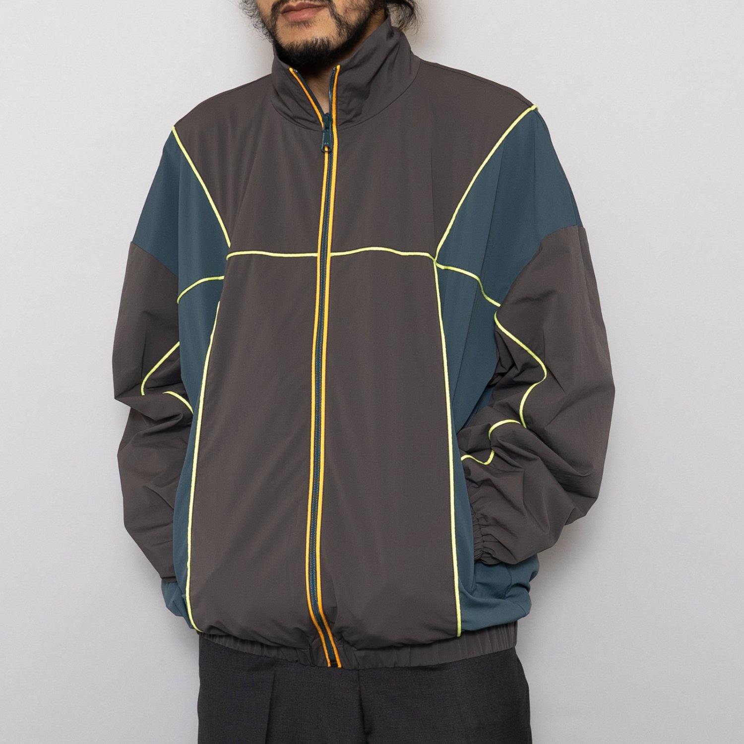A.A.Spectrum * Shell Track Zip Up Top * Grey