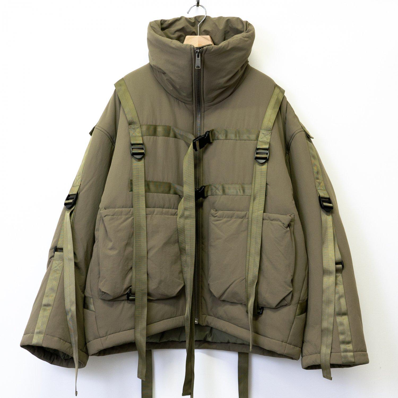 A.A.Spectrum * Bondage Padding Jacket * Flak Green
