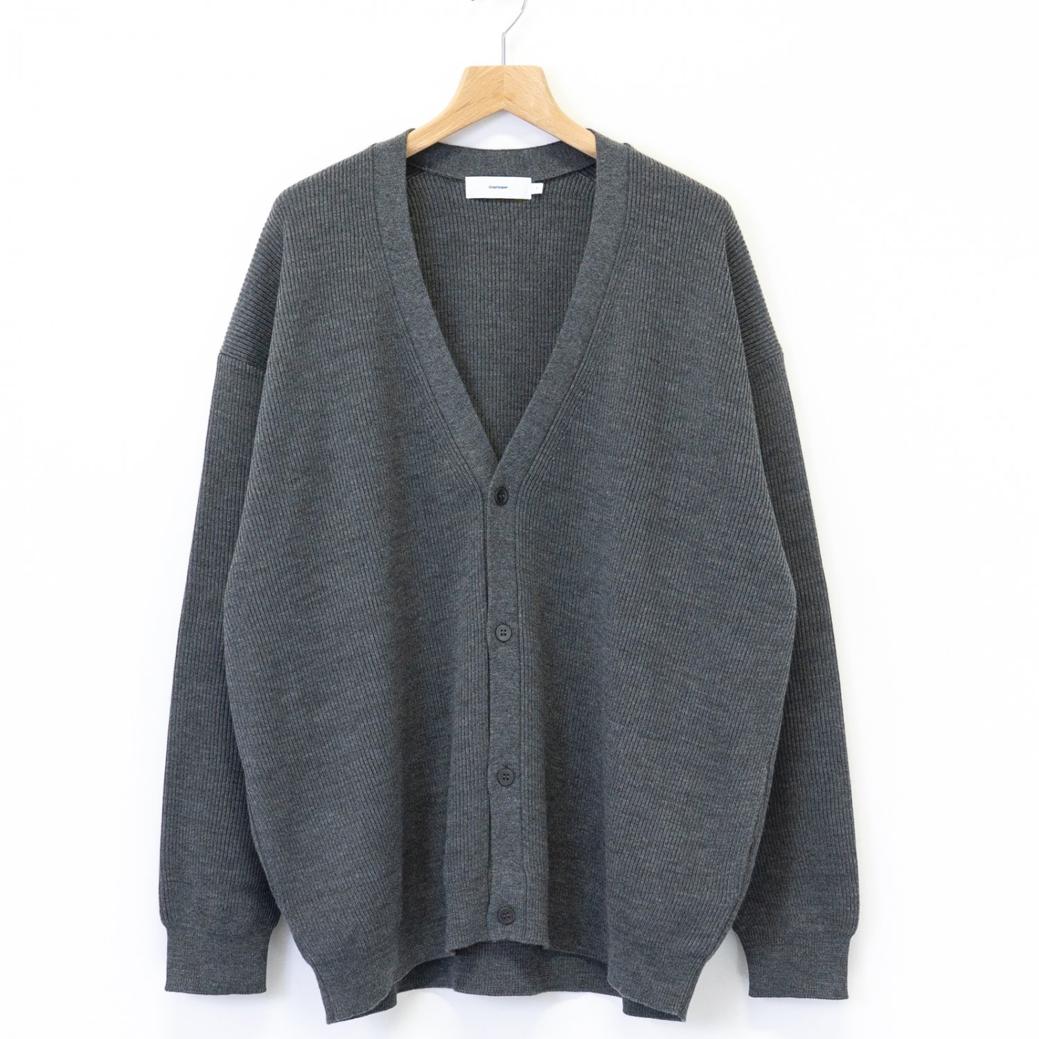 Graphpaper * High Density Cardigan * Gray