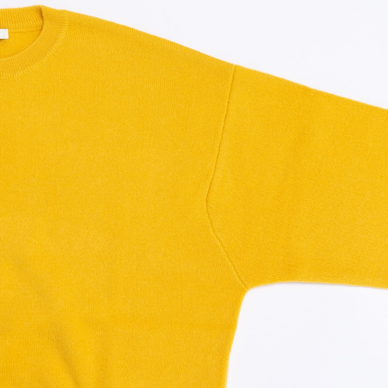 BODHI * PREMIUM CASHMERE SWEATSHIRTS * Yellow