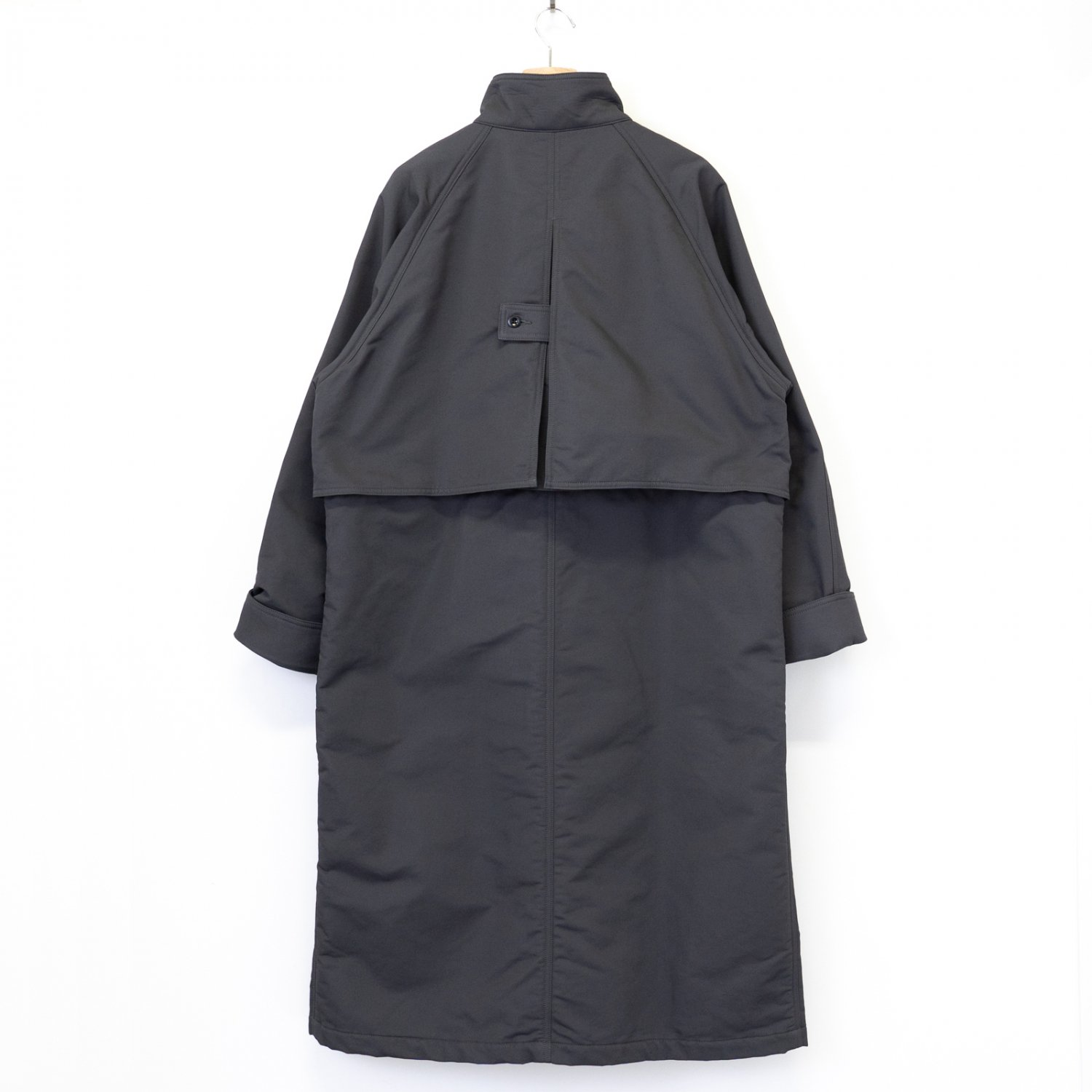 Graphpaper * Double Face Twill Stand Collar Coat * C.Gray