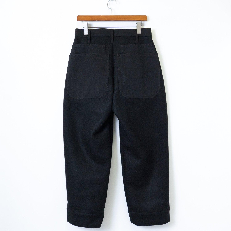 TUKI * 0135 Combat Pants Melton/Solid Twill * Black