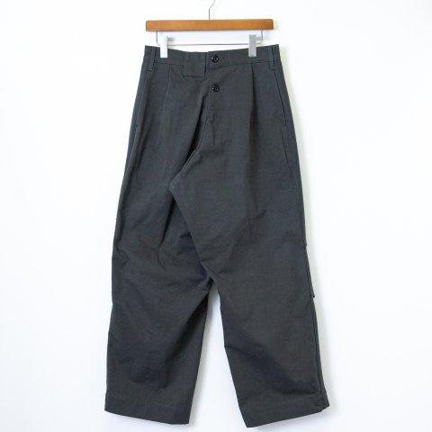 TUKI * 0136 Reversed Pants Melton/Solid Twill * Steel Blue