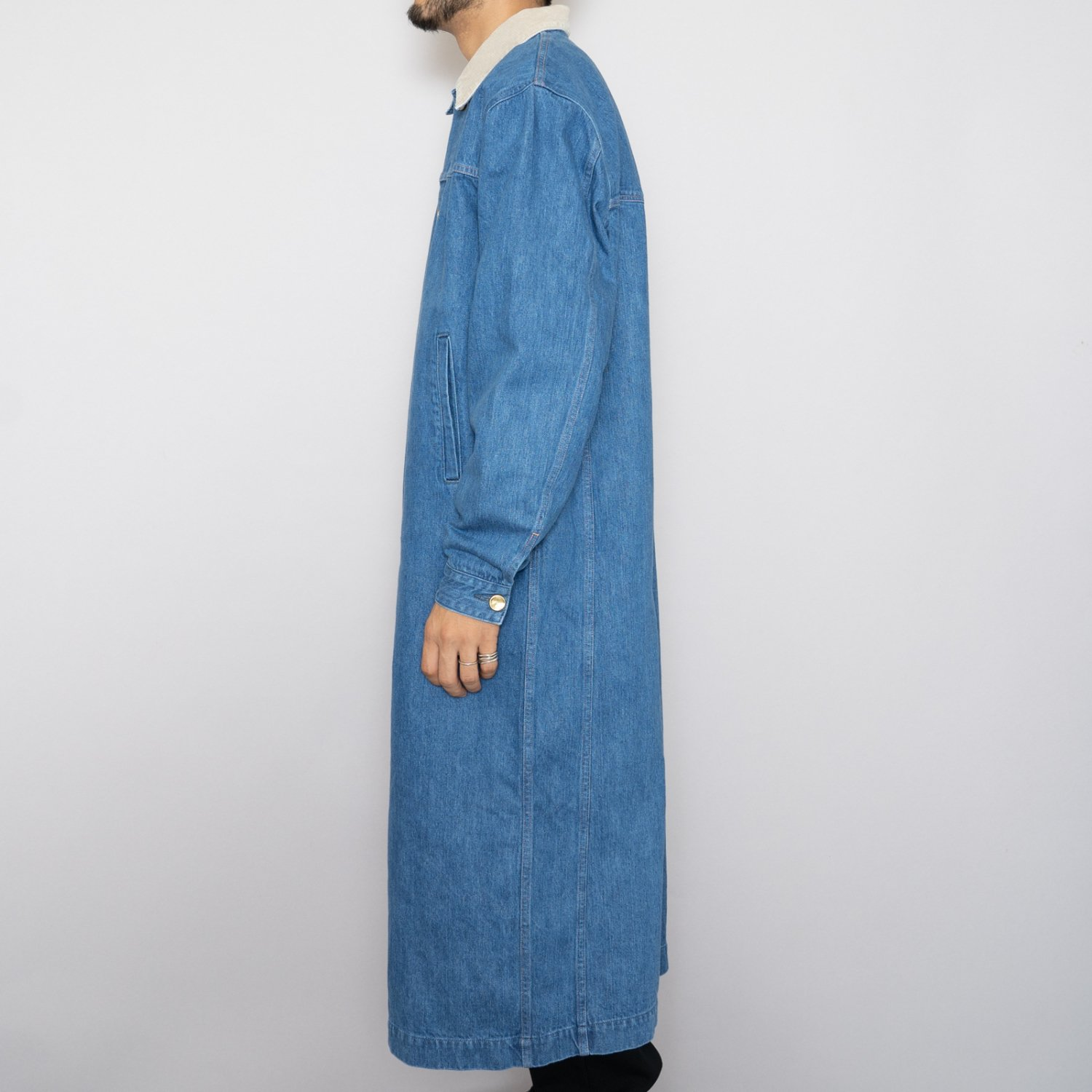 UNUSED * US1885 13oz Denim Coat * Indigo