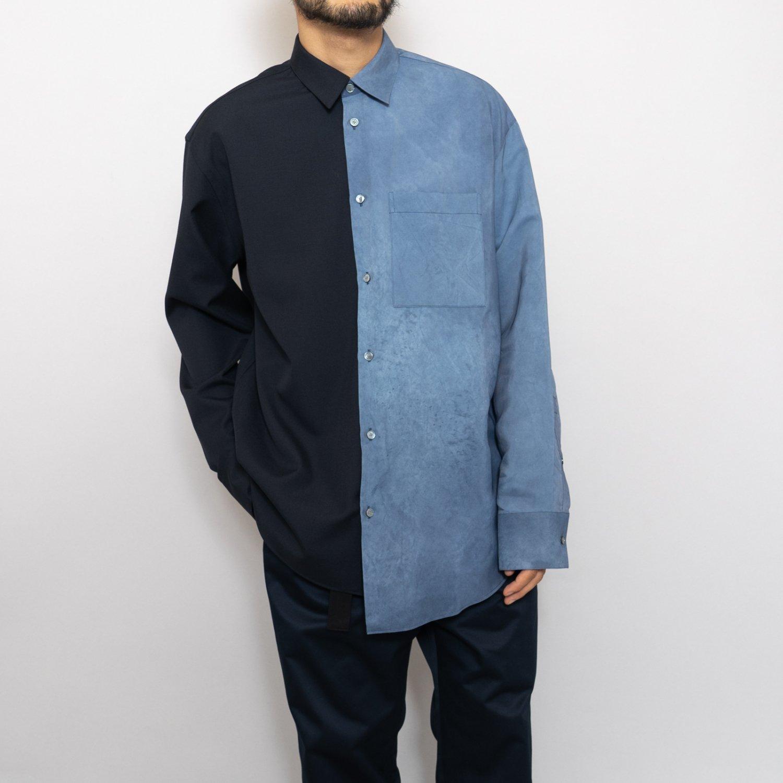 OAMC * QUADRA SHIRT * Industrial Blue