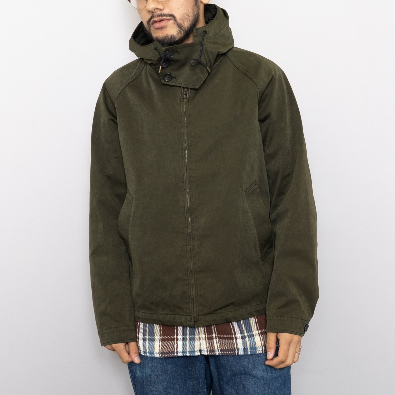 Ten-c * ANORAK * Charcoal