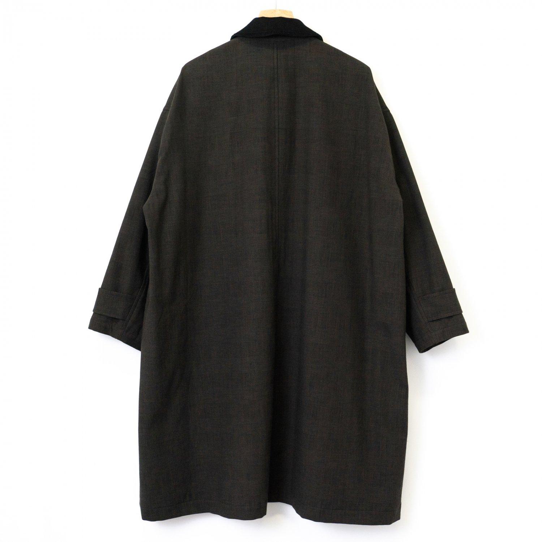 FreshService * Glencheck Field Coat * Black