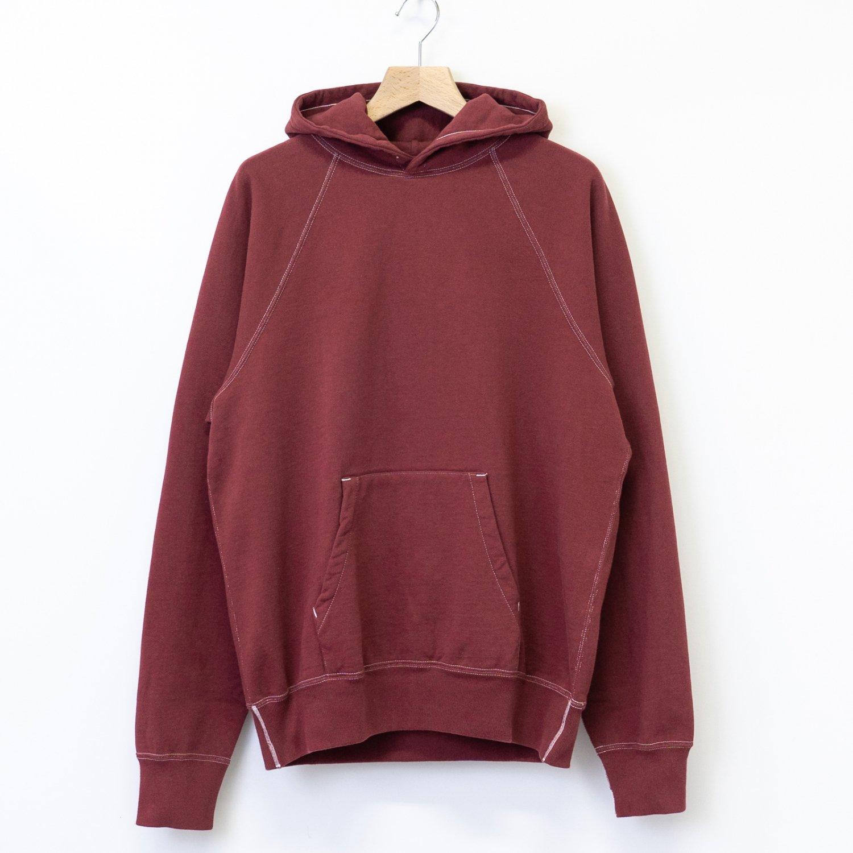 UNUSED * US1837 Cotton Sweat Hoodie * Burgundy