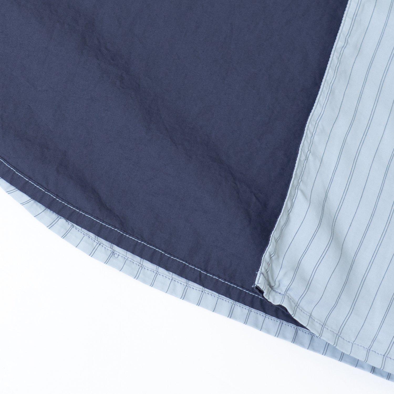 OAMC * HENRY SHIRT STRIPE * Oxford Blue