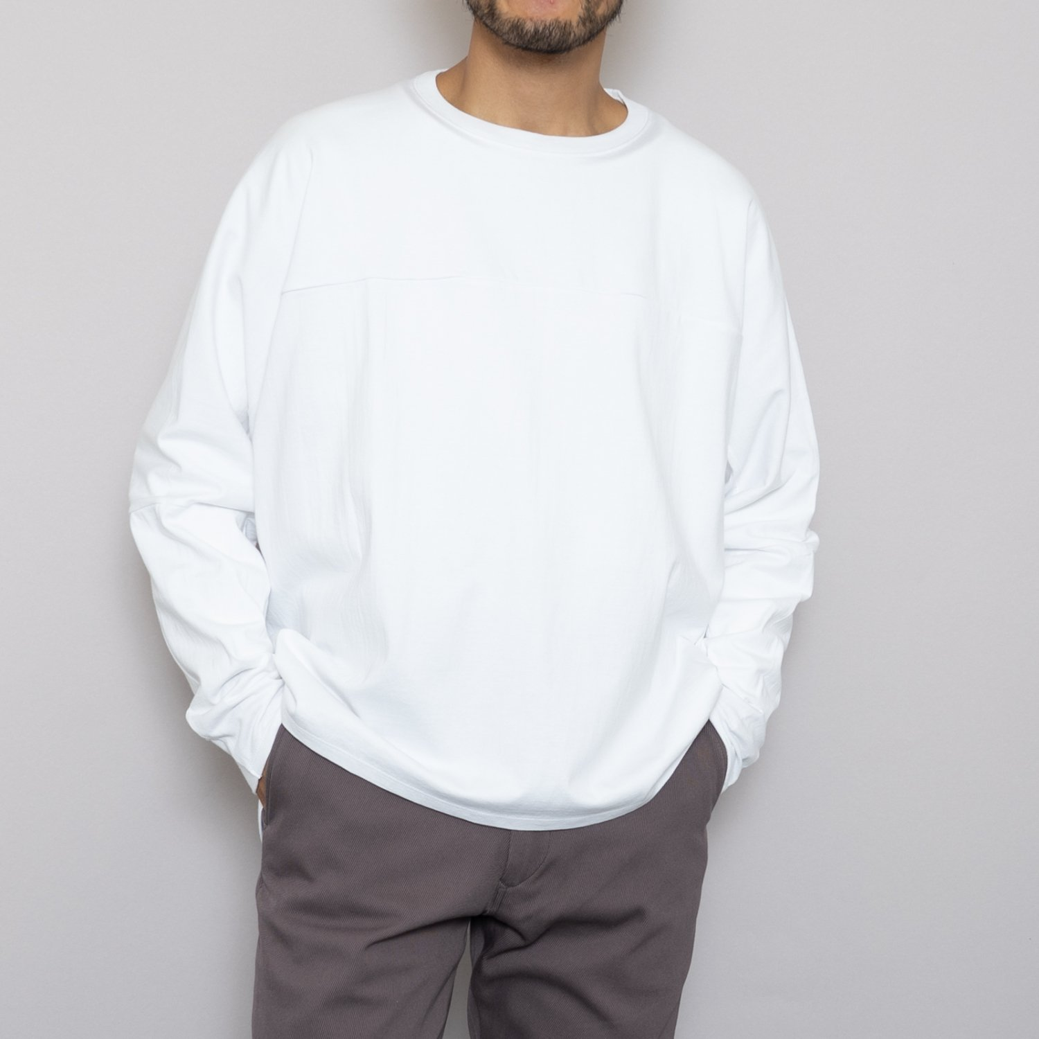 Graphpaper * PRE_ for Graphpaper Oversized FTB L/S Tee * White