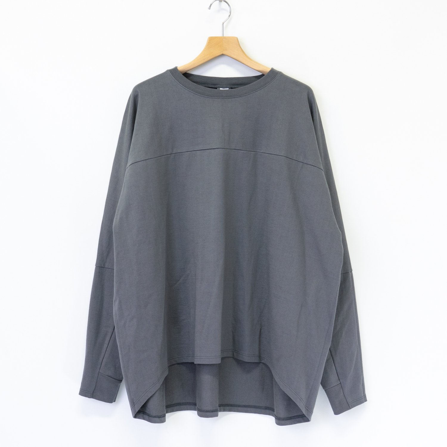 Graphpaper * PRE_ for Graphpaper Oversized FTB L/S Tee * Gray