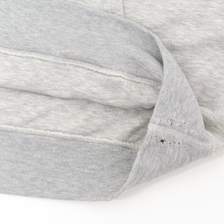 UNUSED * US1859 Doubleface Crew Neck Sweat * Gray