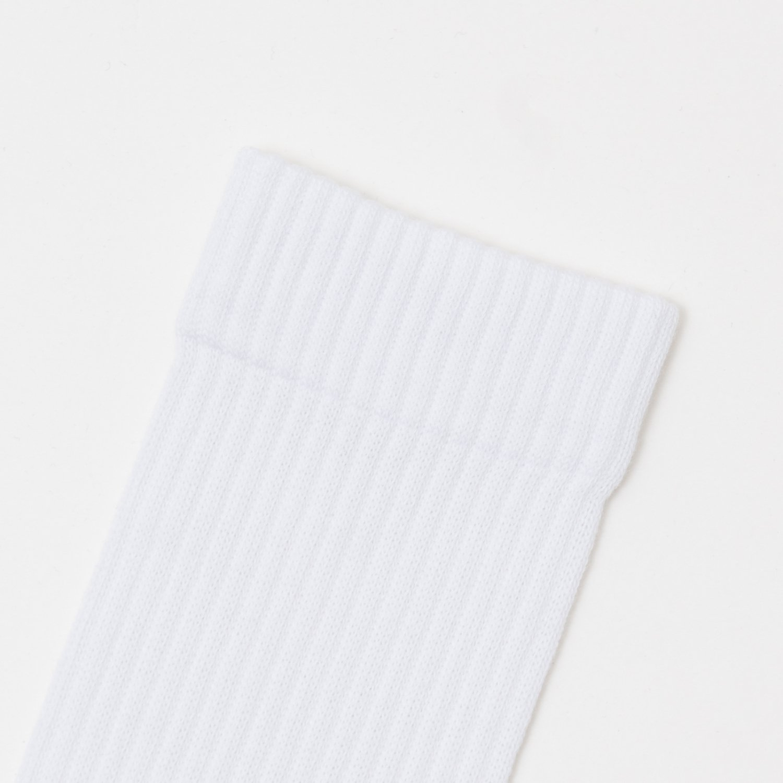 public ORIGINAL * 2PACK RIB SOCKS * White/Gray