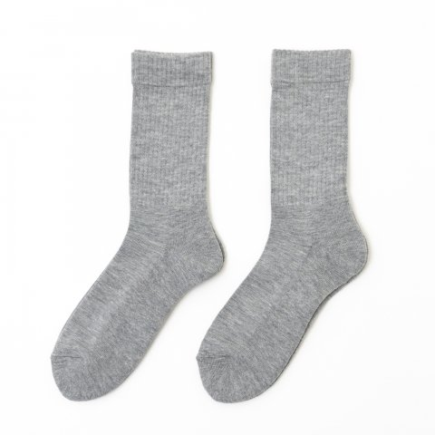 public ORIGINAL * 2PACK RIB SOCKS * Gray/Gray
