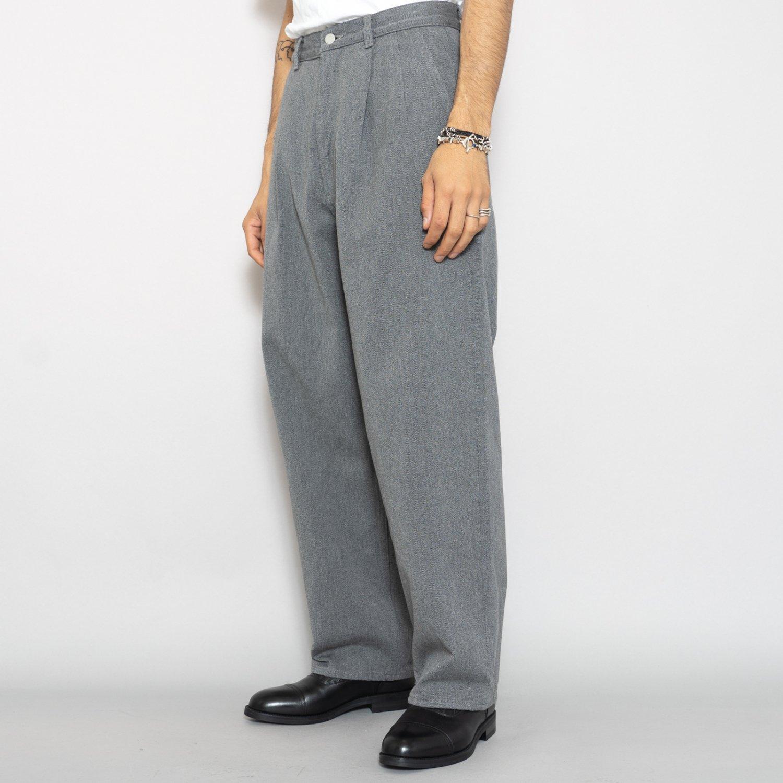 Graphpaper * Colorfast Denim Two Tuck Pants * Gray