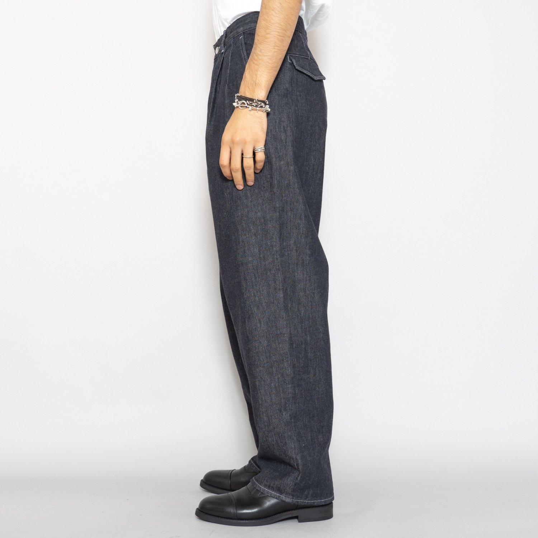 Graphpaper * Colorfast Denim Two Tuck Pants * Indigo