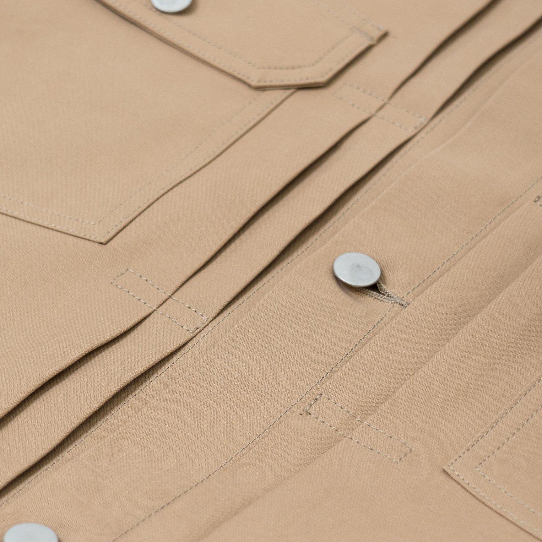 Graphpaper * Double Cloth Peach Trucker Jacket * Beige