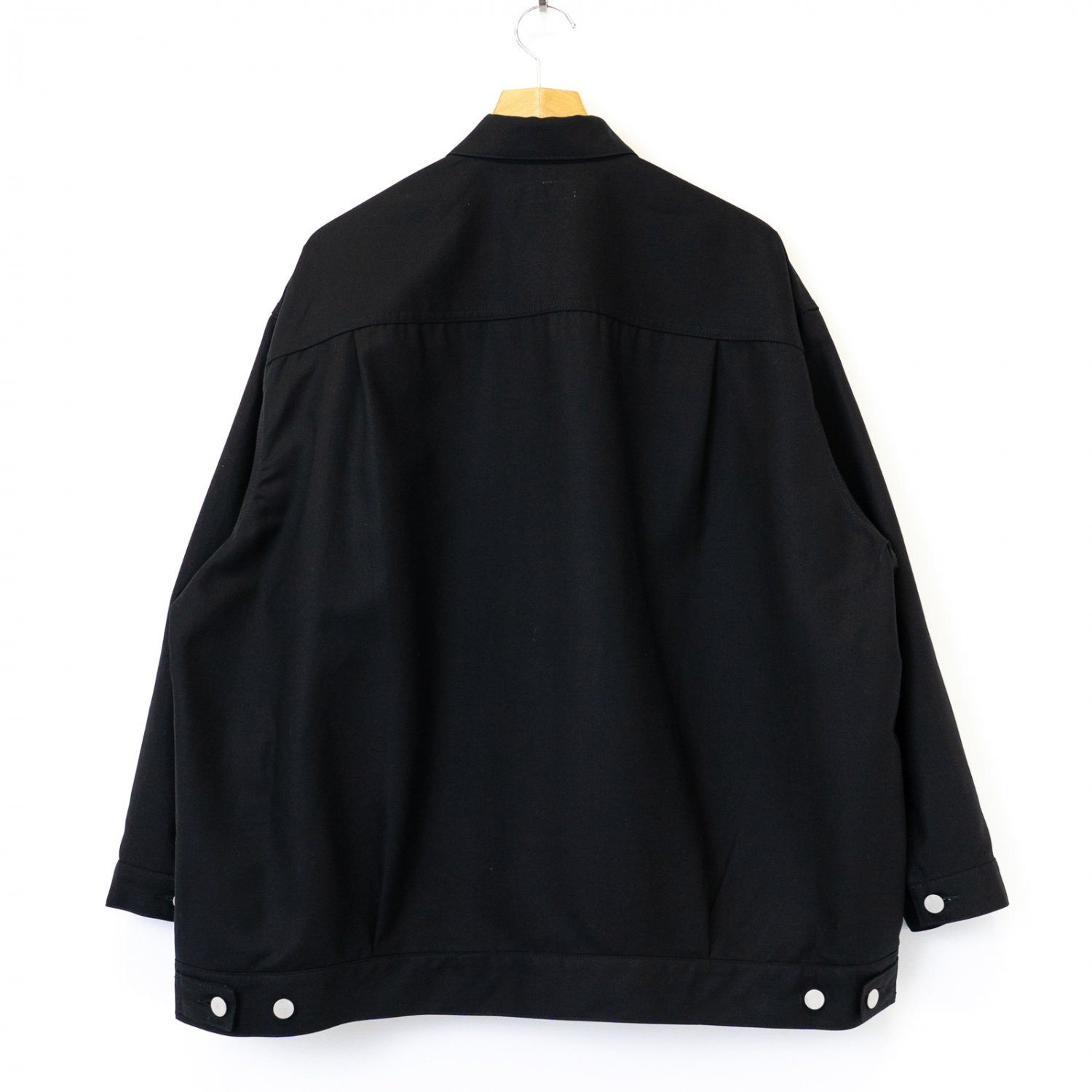 Graphpaper * Double Cloth Peach Trucker Jacket * Black