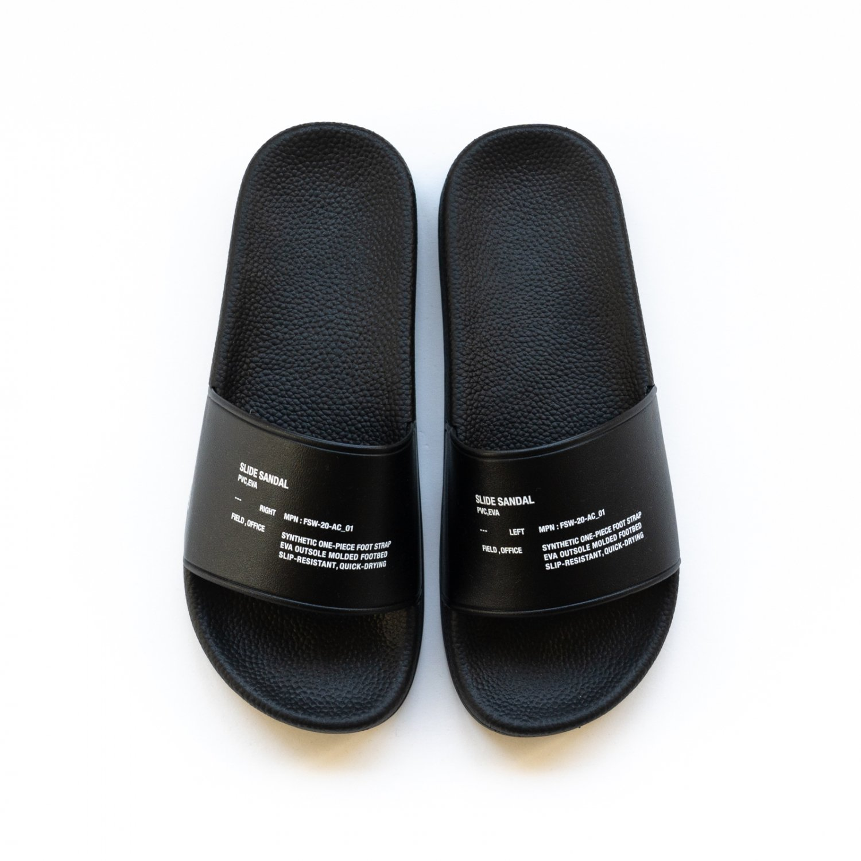 FreshService * Silde Sandal * Black