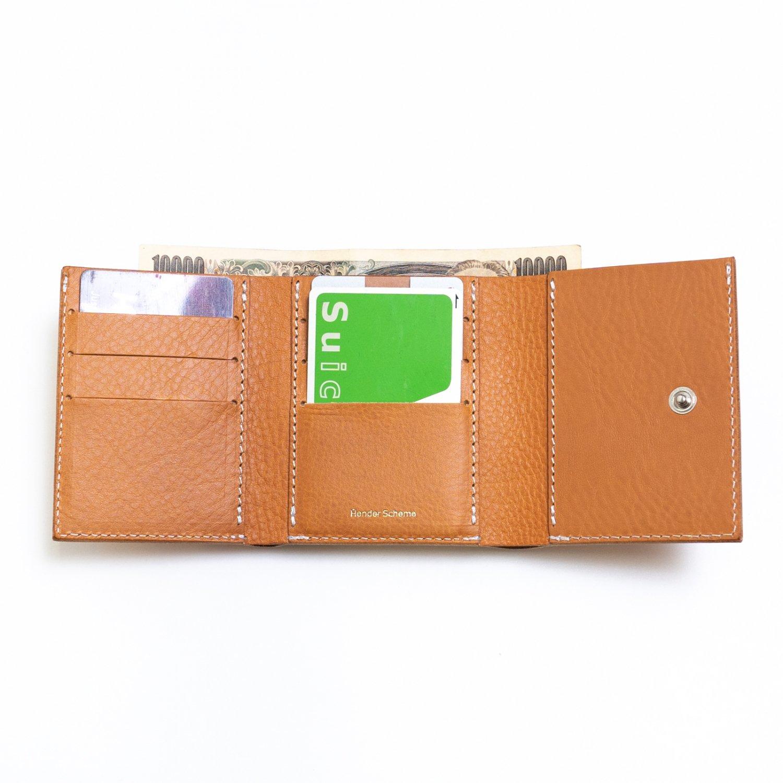 Hender Scheme * Trifold Wallet(3色展開)