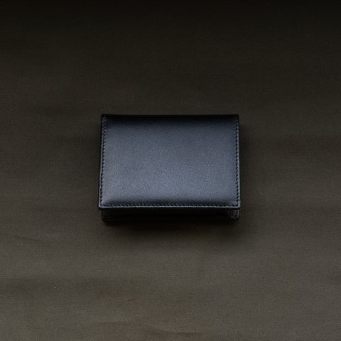 WALLET COMME des GARCONS * CLASSIC LEATHER LINE CARD CASE * Black