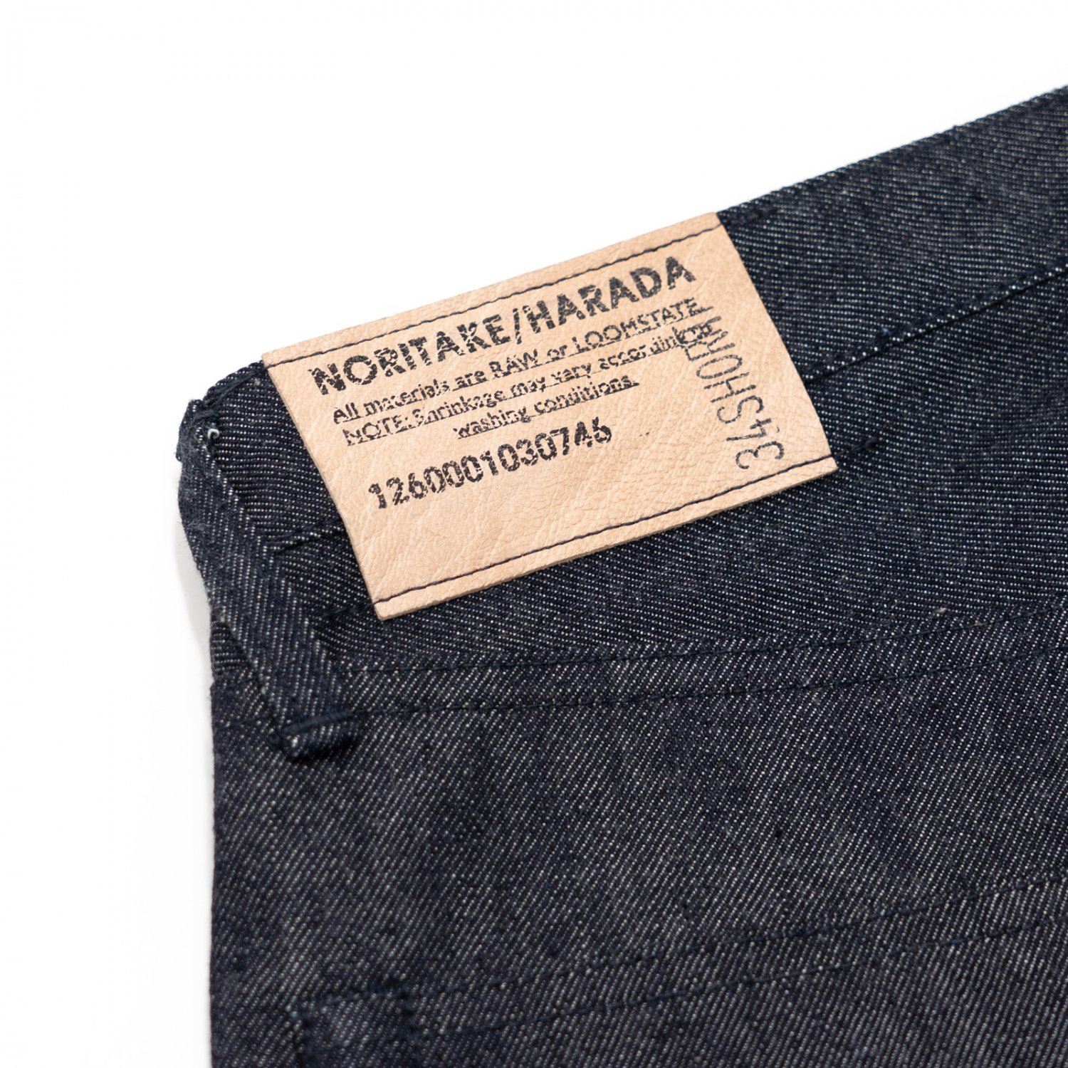 NORITAKE/HARADA * Denim Pants 34inch Short