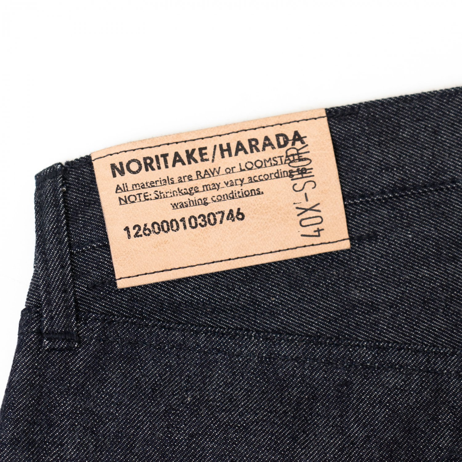 NORITAKE/HARADA * Denim Pants 40inch X-Short