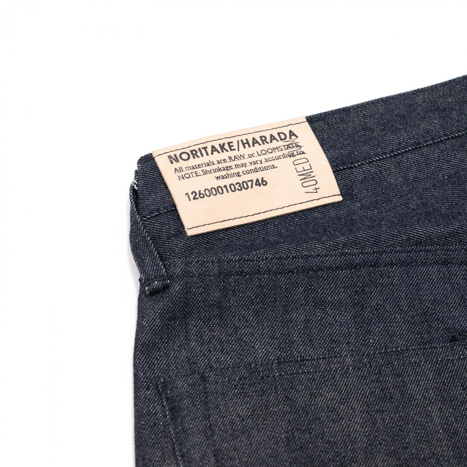 NORITAKE/HARADA * Denim Pants 40inch Medium