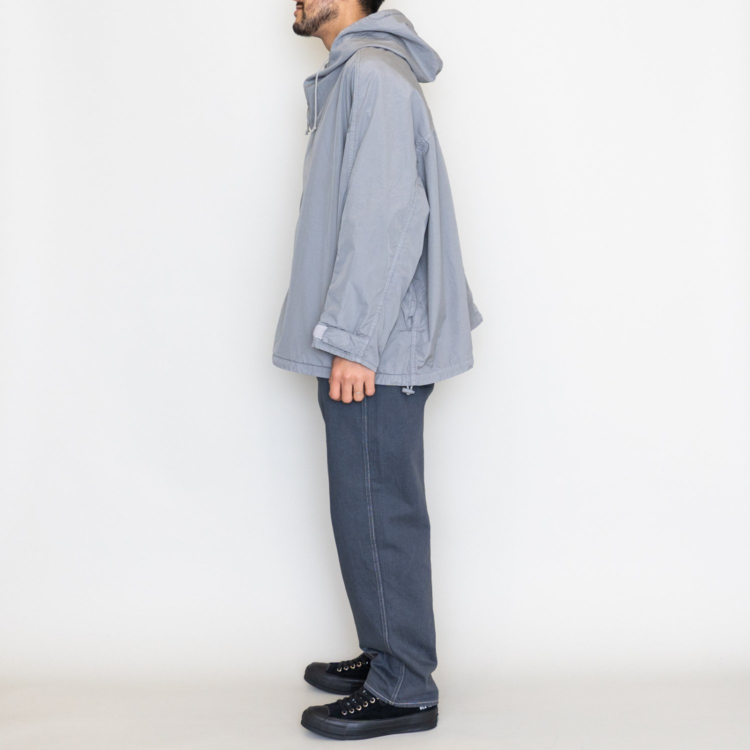 Graphpaper * for public Gament Dyed Poplin Snow Parka * Gray