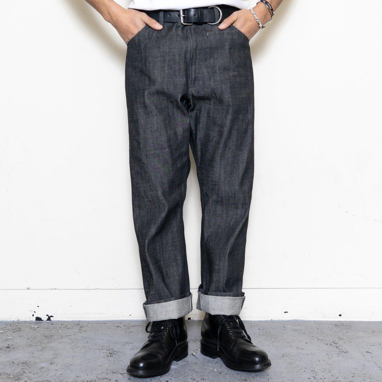 TUKI * 0141 Cowboy Pants * Black
