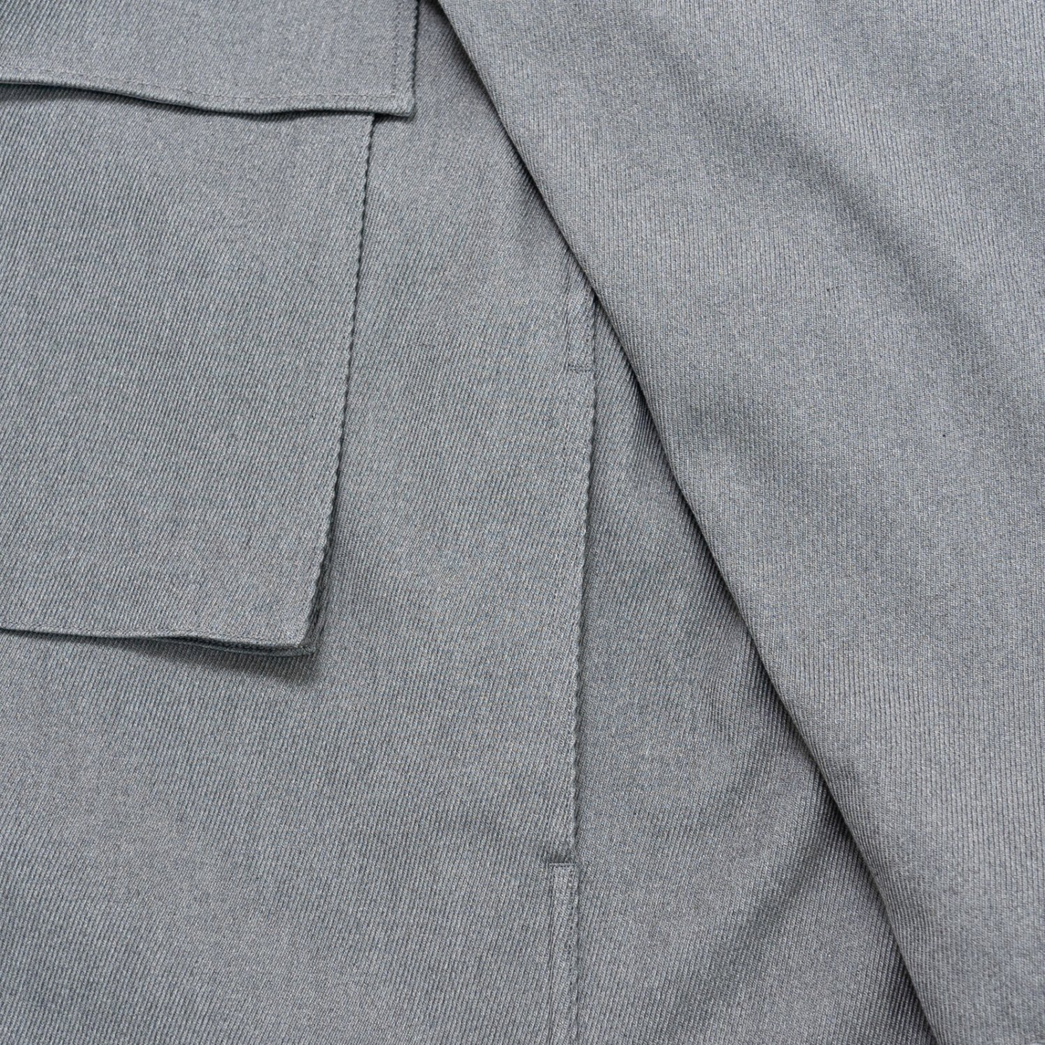 Graphpaper * Hard Twill Fatigue Jacket * Heather Gray