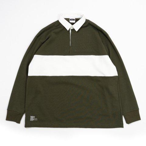 FreshService * L/S Rugby Shirt * Khaki