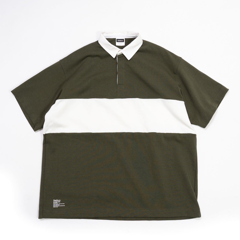 FreshService * S/S Rugby Shirt * Khaki