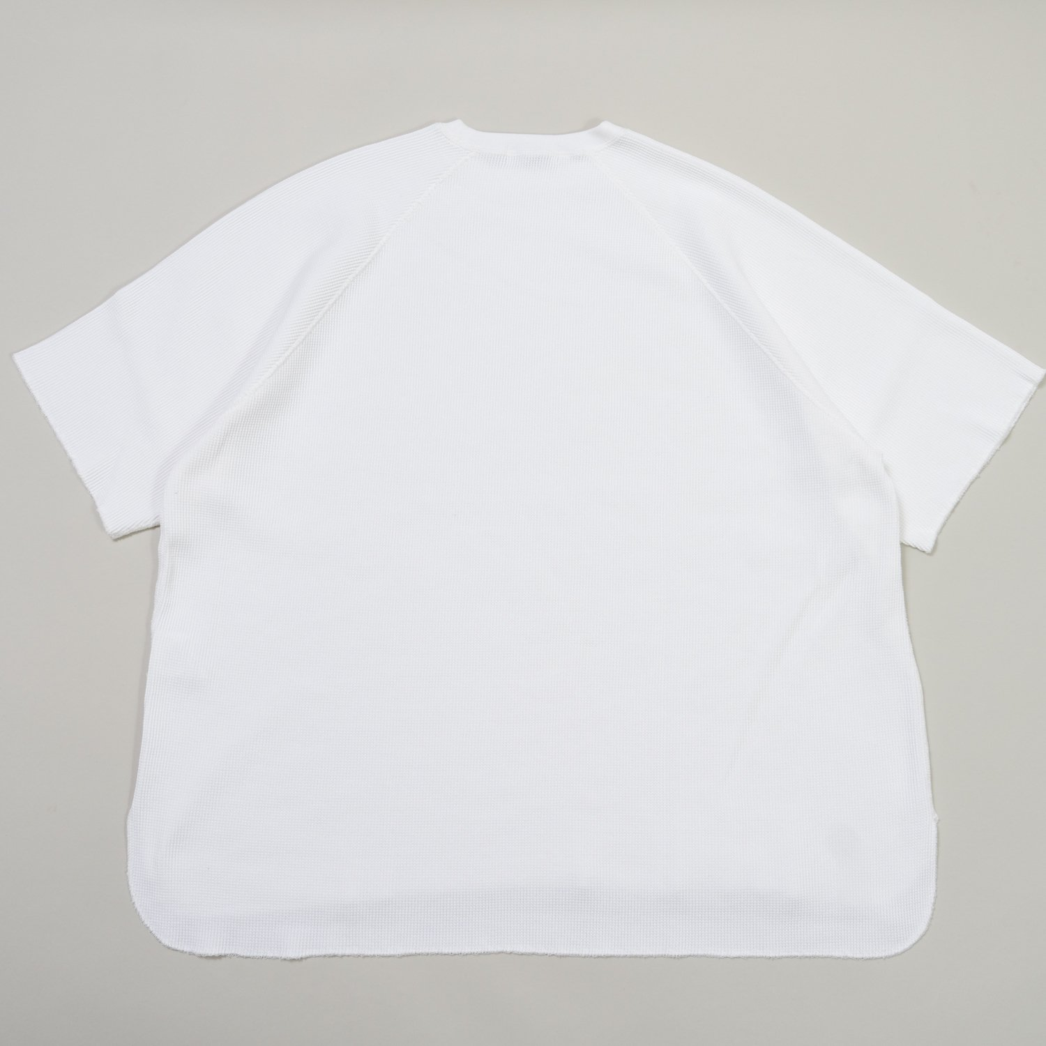 Graphpaper * Waffle S/S  Tee * White