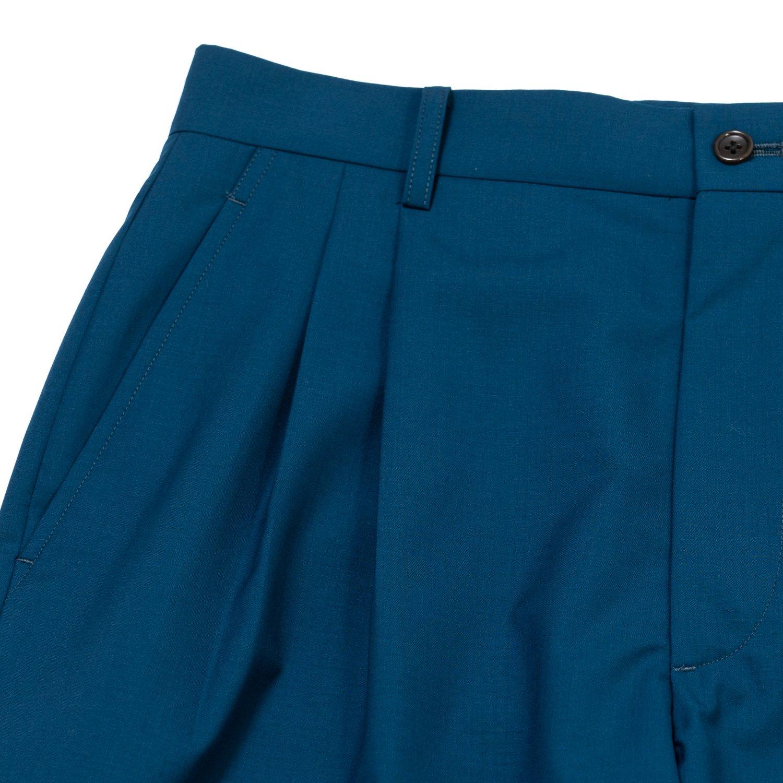 Graphpaper * Fine Tropical Wool Pants * Blue