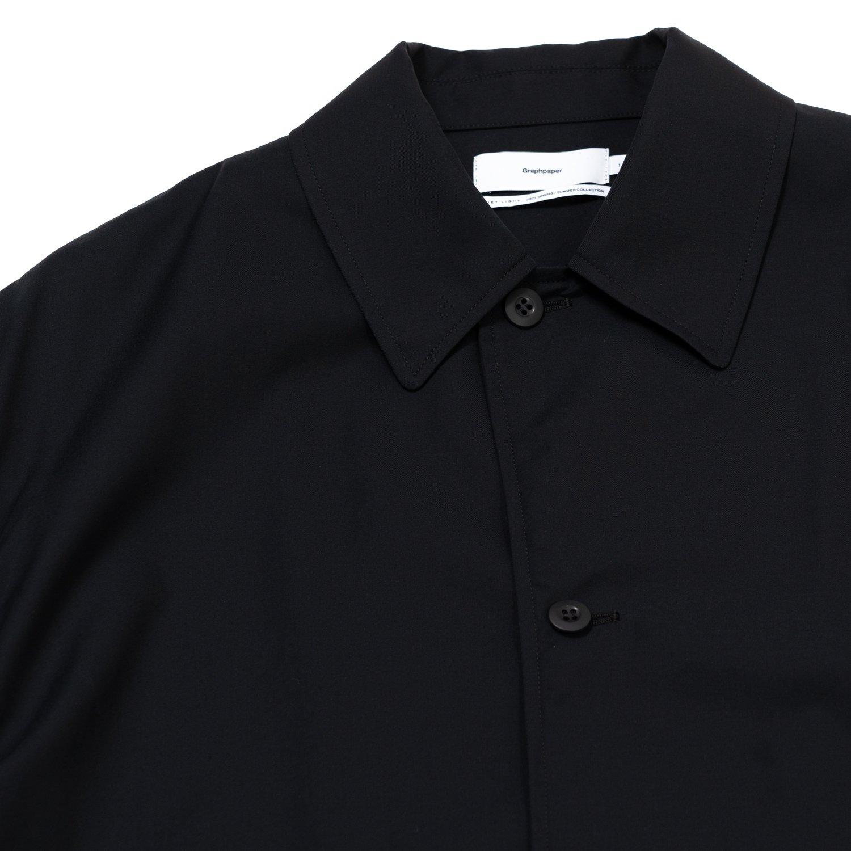 Graphpaper * Cupro Shirt Coat * Black