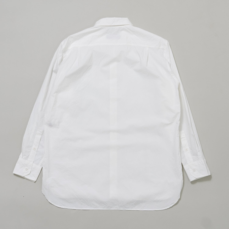 CASEY CASEY * 16HC197 BIG RACCOURCIE SHIRT HCOT80 * White