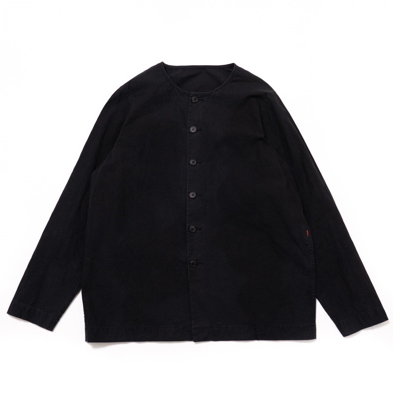CASEY CASEY * 16HC201 VERGER SHIRT COTR * Black