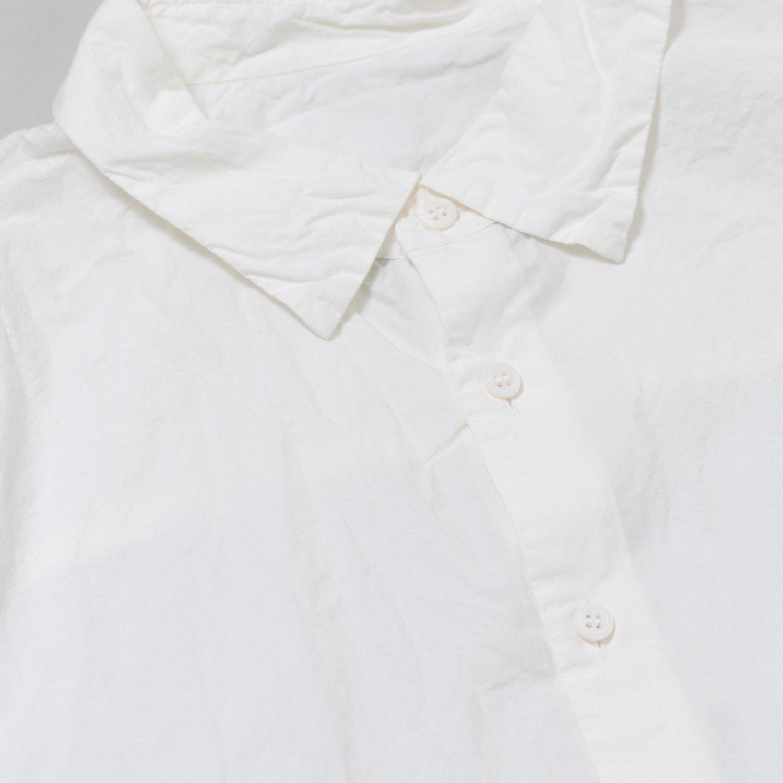CASEY CASEY * 16HC210 ODEMANIA SHIRT PAPER * White