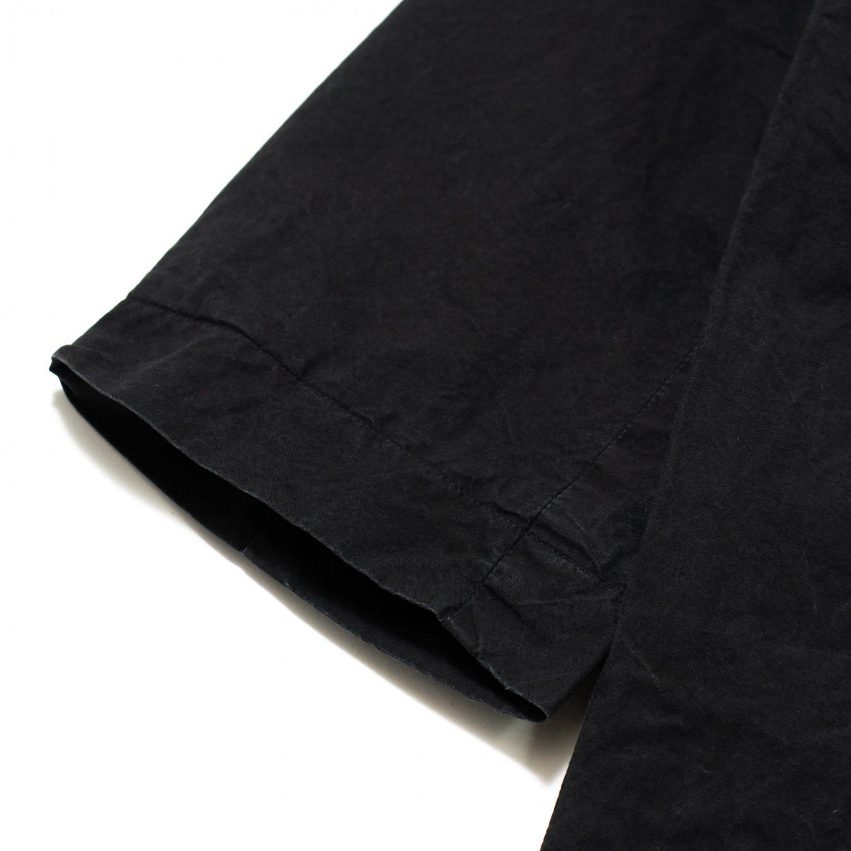 CASEY CASEY * 16HM109 BLOM COAT LWAX * Black