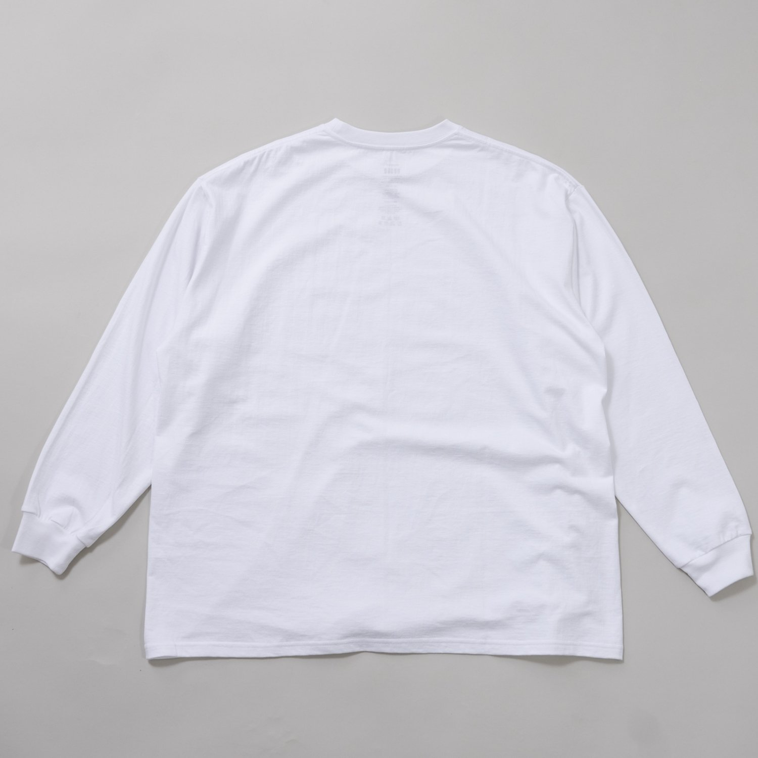 Graphpaper * L/S Oversized Tee * White