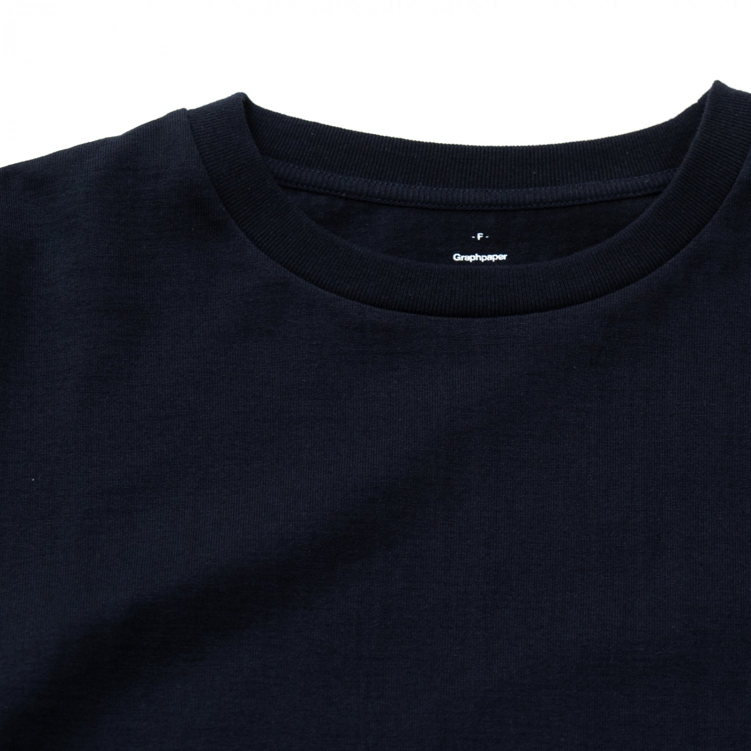Graphpaper * L/S Oversized Tee * Navy