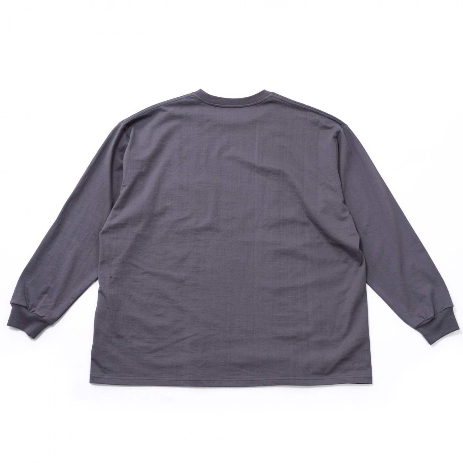 Graphpaper * L/S Oversized Pocket Tee * Gray