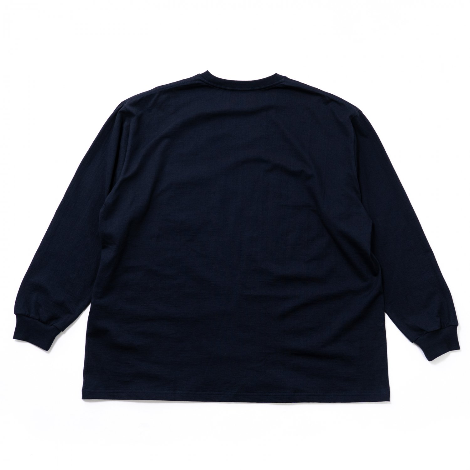 Graphpaper * L/S Oversized Pocket Tee * Navy