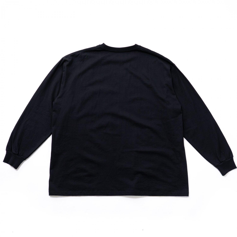 Graphpaper * L/S Oversized Pocket Tee * Black