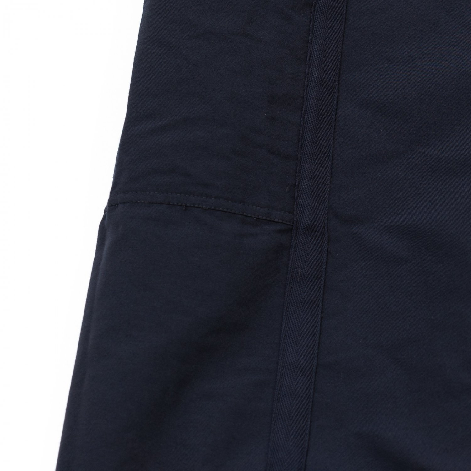ts(s) * Nylon-Monofilament&Cotton Double Face Cloth Reversible Seam Taping East Pants * Navy